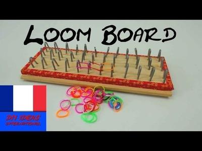 Comment fabriquer planche pour faire bracelets loom - rainbow loom métiers à tisser tutorial