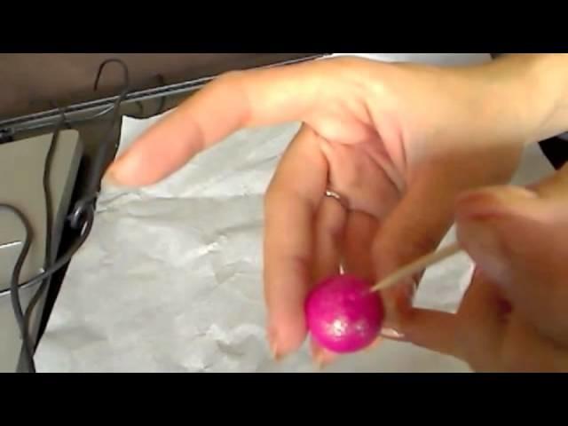 Tuto Fimo : Réaliser une Pomme d'Amour en pâte Fimo (Polymer Clay tutorial)