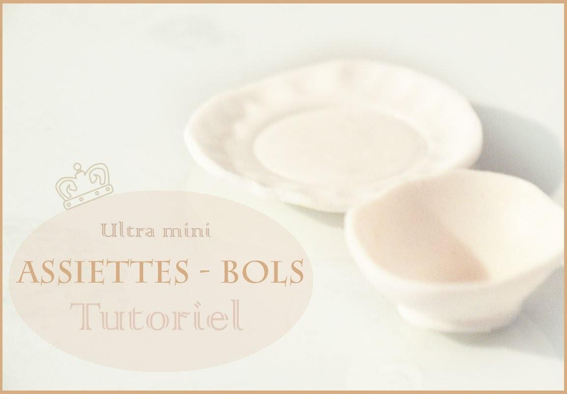 Tutoriel: Assiettes-bols pâte polymère. Bowls-Plates Polymer Clay Tutorial