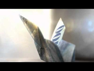 Campagne d'image 2010: des Origami animés - Papillon