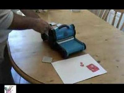 Démo big shot : découpe papier