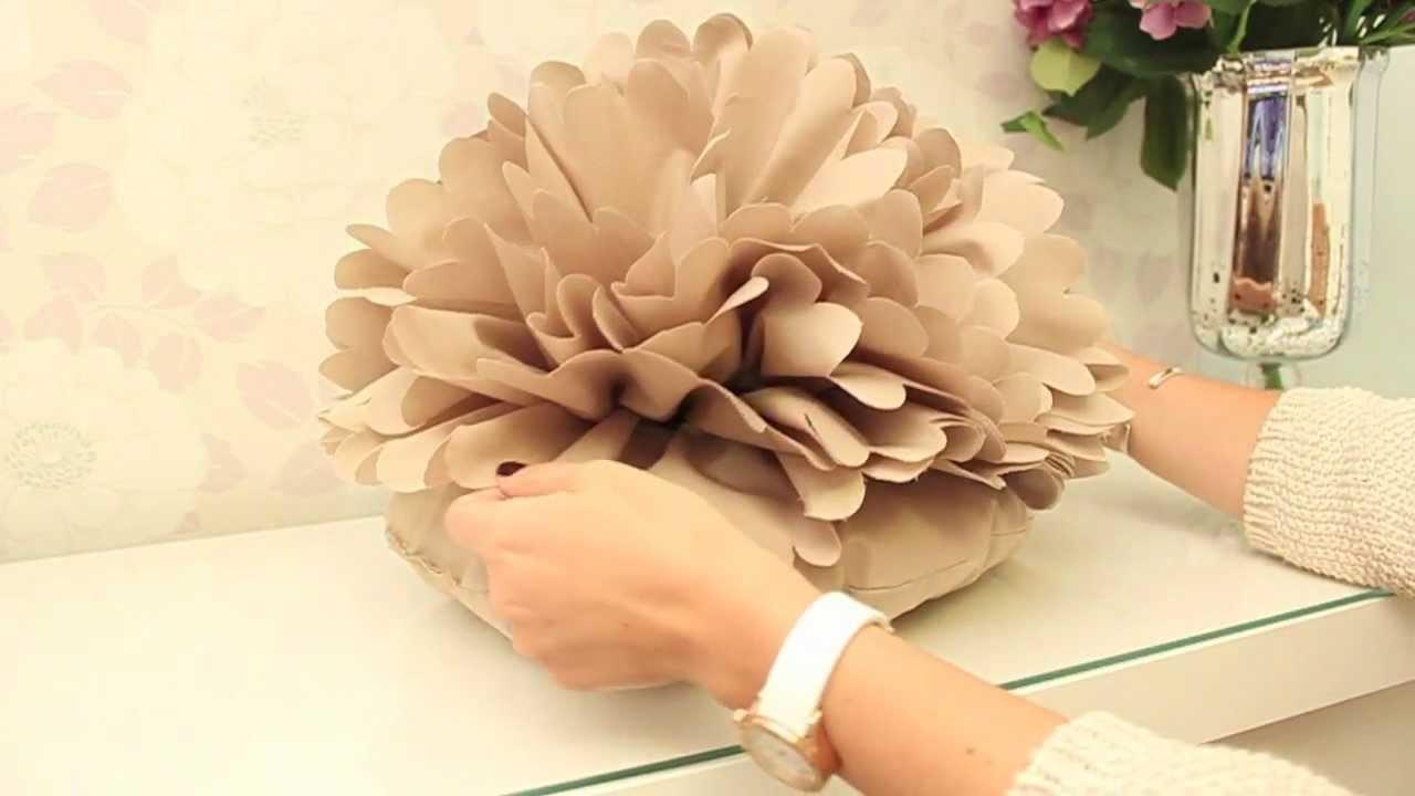DIY Coussin Fleur