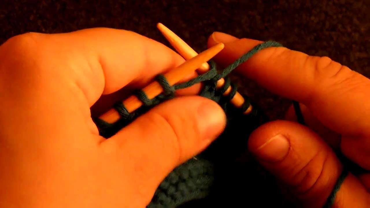 Apprendre tricoter le point tour eiffel 2 2 - Apprendre a tricoter gratuitement ...