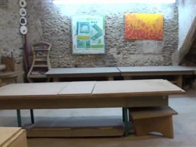 Atelier Schmulb du meuble carton et du papier maché