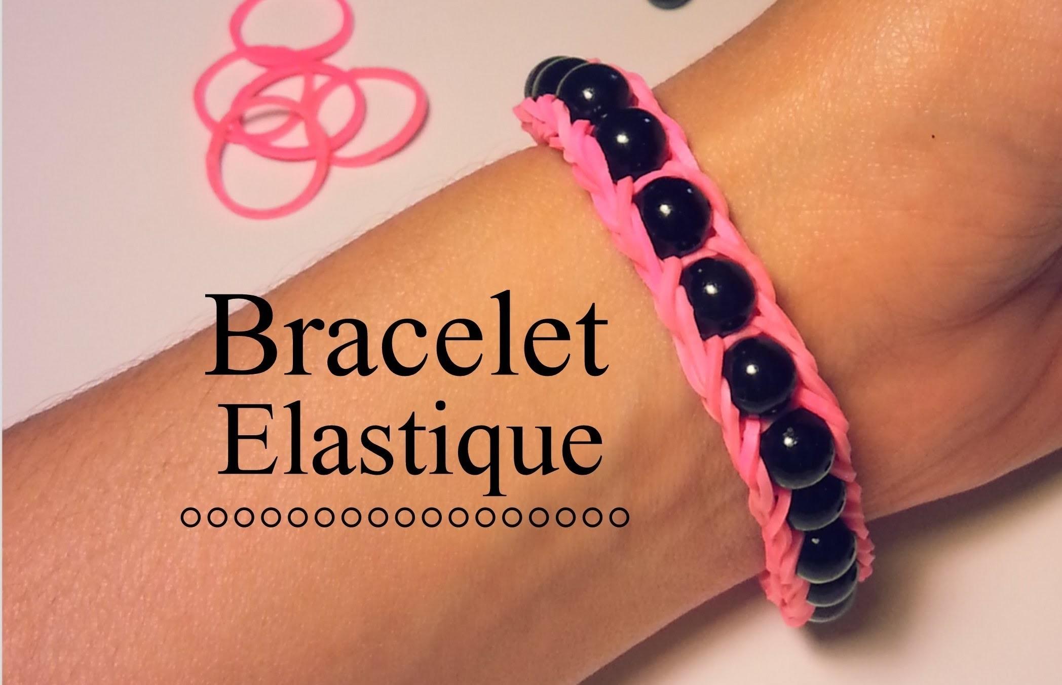 comment faire un bracelet lastique avec des perles. Black Bedroom Furniture Sets. Home Design Ideas