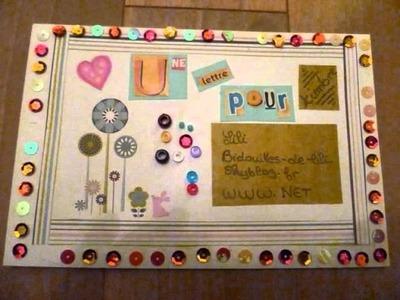 Décorer une enveloppe - Decorate an envelope !