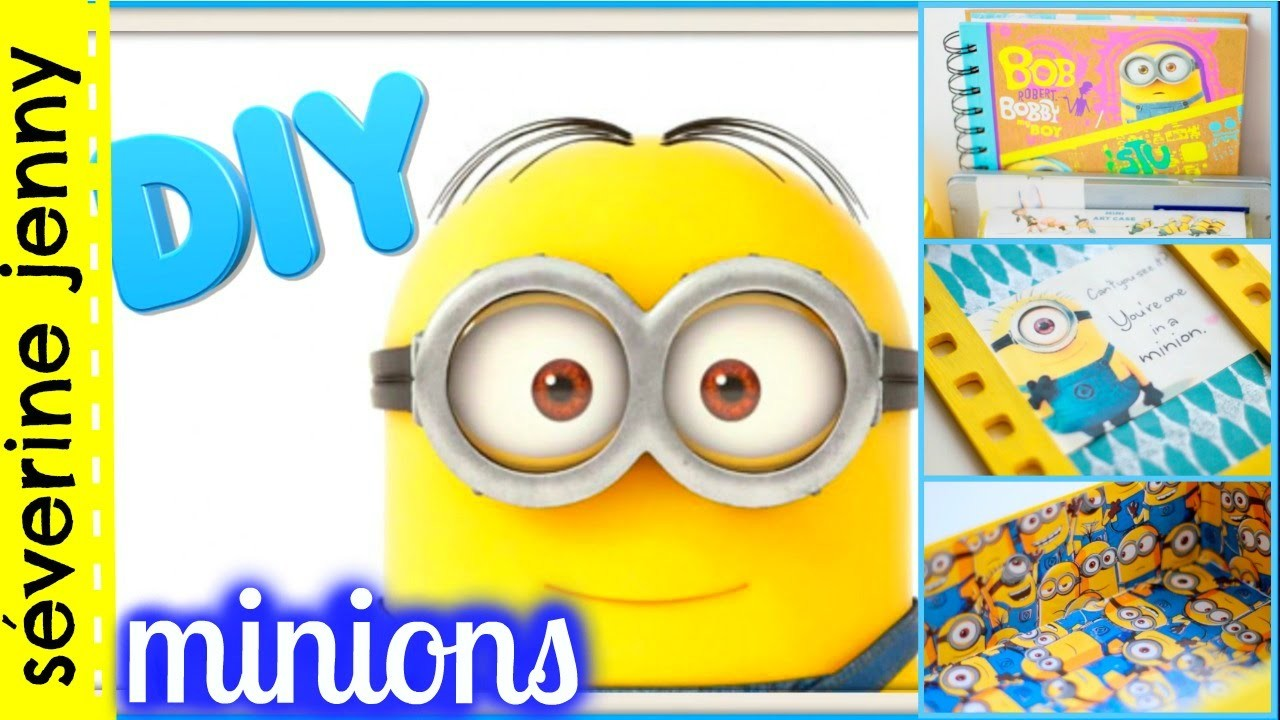 DIY français #3 Minions : room decor