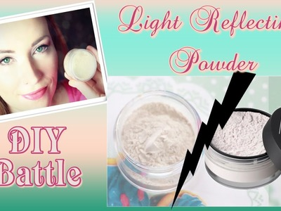 ✮ DIY ✮ Light Reflecting Powder ✮ Dupe Nars ✮ | Caly Beauty