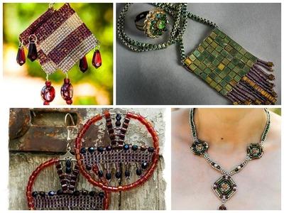 DIY perles tissées