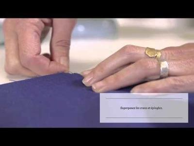 DIY - Placer un pli simple