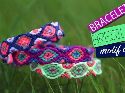 DIY - Tuto : BRACELET BRESILIEN OEIL - eye friendship bracelet hamsa