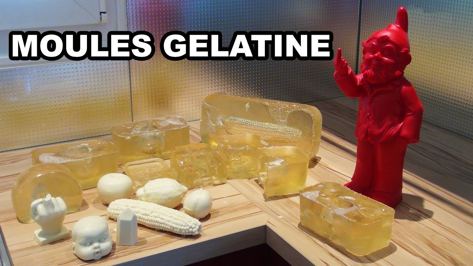 Moule gélatine - How to do gelatine mold - pâtisserie - cuisine - Albarock