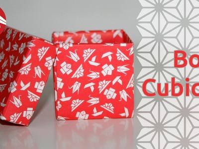 Origami - Boîte cubique - Cubic box [Senbazuru]