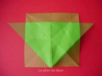 Origami tulipe