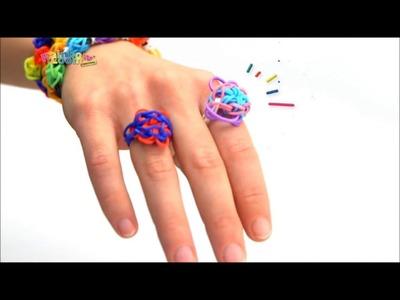 Publicité jeu créatif Rainbow Loom en français