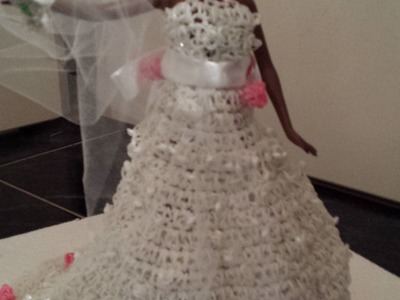 Robe de mariée Barbie - Rainbow loom