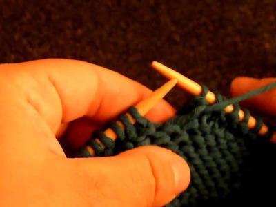 Apprendre à tricoter : le point tour Eiffel (1.2)