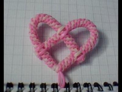 Comment faire un scoubidou en forme de coeur ?