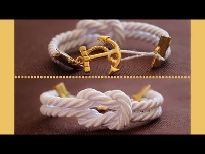 DIY : Bracelet Marin