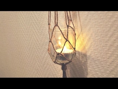 DIY│Photophore suspendu ▵ Alyssia