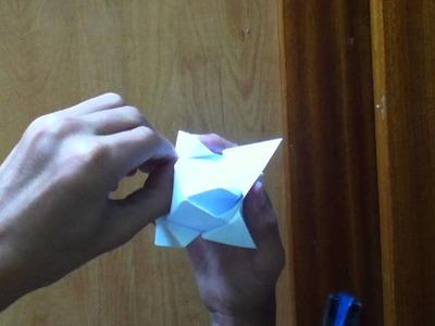 Faire une tulipe en origami - Tulipe en Papier