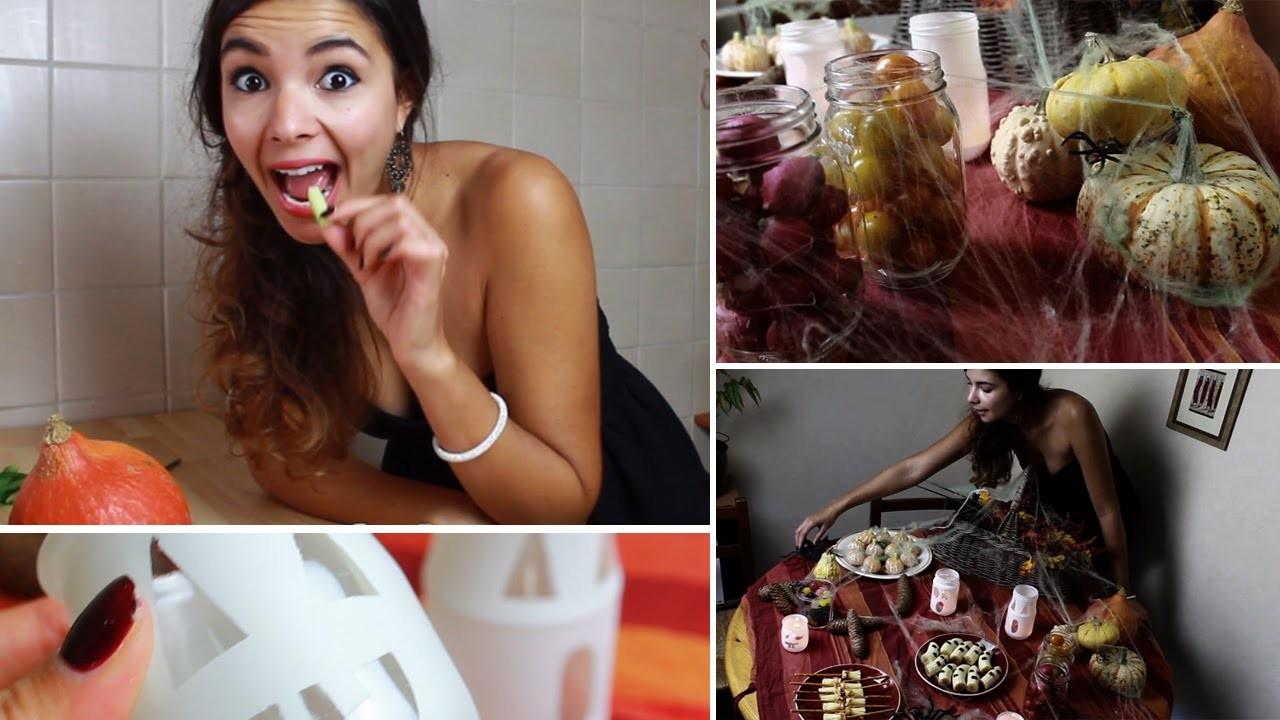 Halloween party - DIY, snack et déco #CaroSafialloween