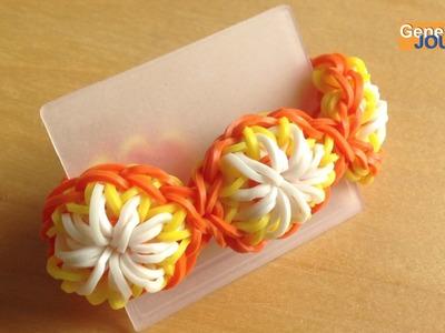 Nouveau créer un bracelet en élastiques citrus avec Sunshine Loom