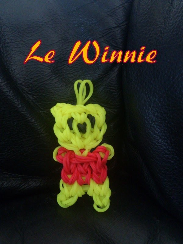 Winnie Rainbow loom® Tutoriel Français (Niveau Intermédiaire)