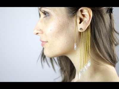 DIY : EAR CUFF 2nd Version - Manchette d'oreilles (english subs)