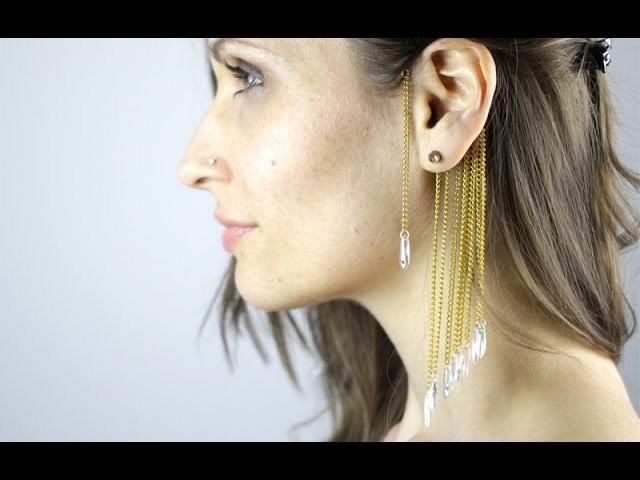 DIY : EAR CUFF 2nd Version - Manchette d'oreilles (english subs)
