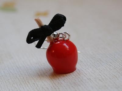 (TUTO) Pomme d'amour en fimo