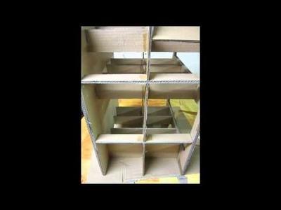 Tutoriel meuble en carton