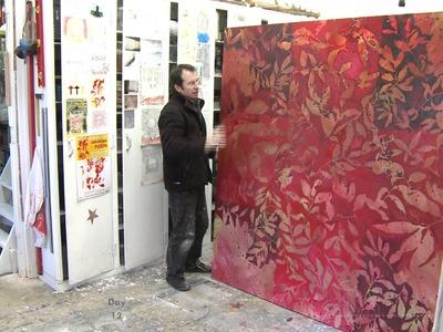 Art contemporain : le peintre Jean-Jacques PIGEON