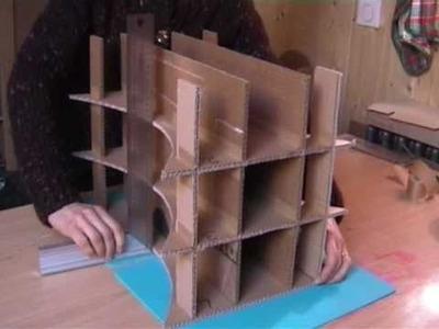 Video Créer son tabouret en carton avec clemsoucarton Volet 2 Parties II et III.wmv