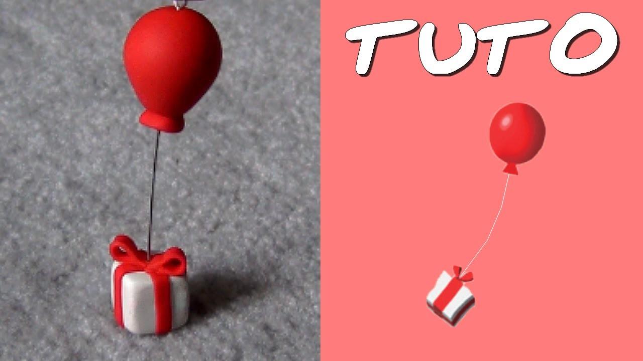 TUTO FIMO | Cadeau-Ballon (de Animal Crossing)