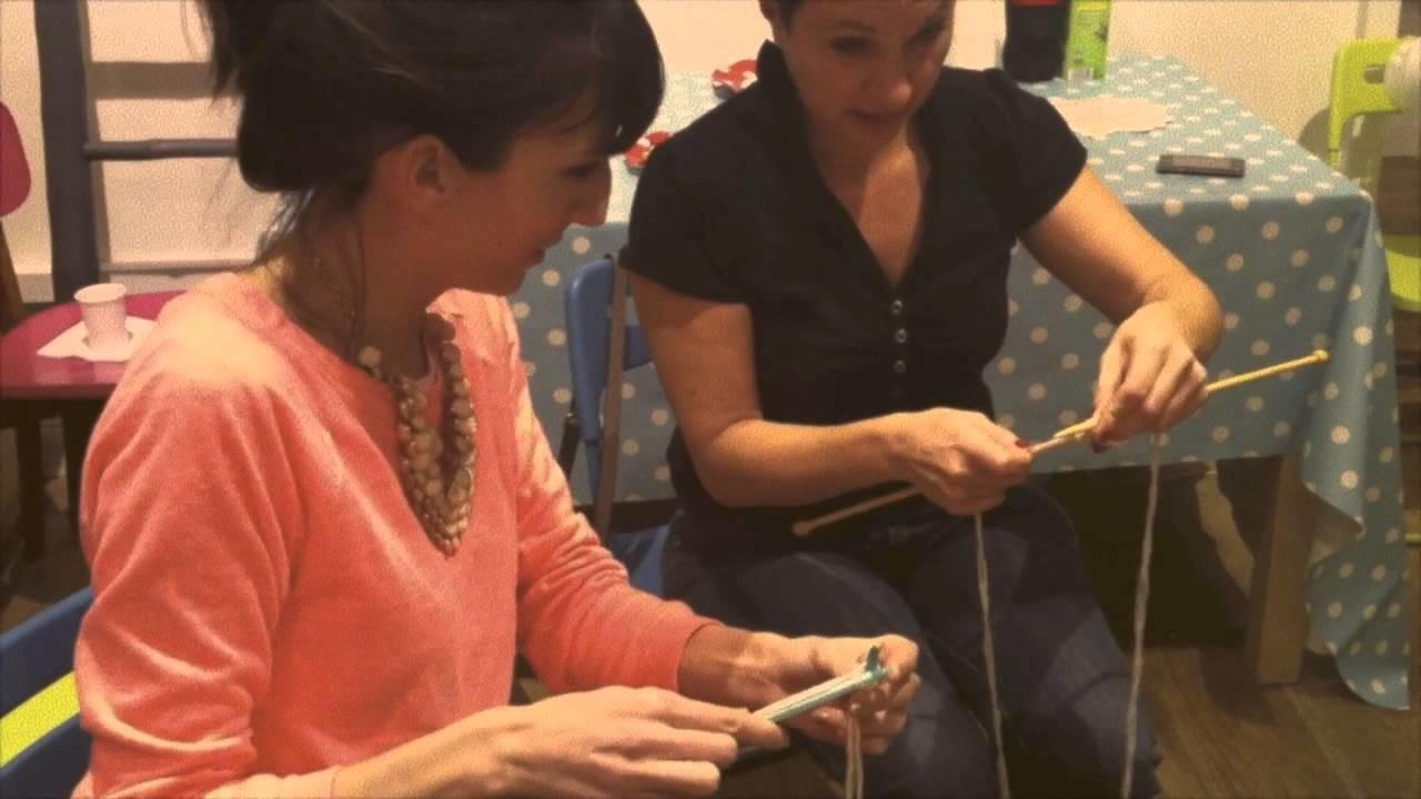 Atelier tricot chez DaWanda