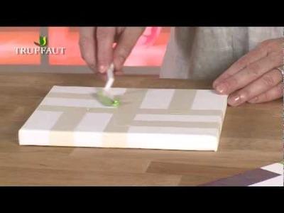 DIY déco : peinture à effet nacré