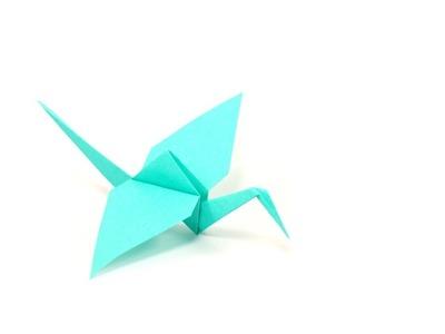 DIY - Origami Grue by Fraises au sucre