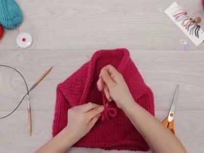 Phildar - « Au tricot - DIY » : Tricoter avec des aiguilles circulaires