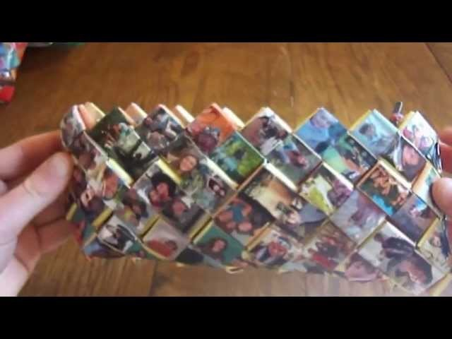 Comment réaliser une trousse ou un sac en magazines?