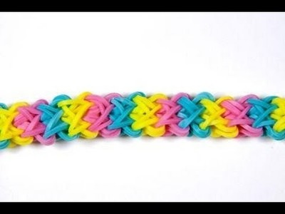 Double X en rainbow loom francais HD