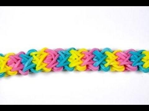 Double X en rainbow loom francais HD