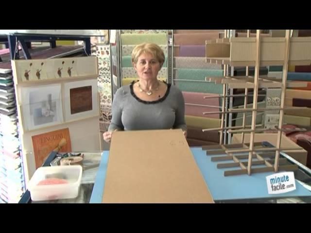 Réaliser vous-même un meuble en carton
