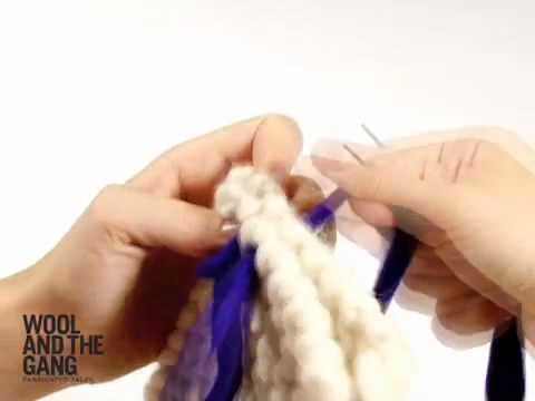 11 Assembler votre tricot - tutoriels par Wool and the Gang