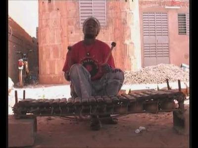 Abdoulaye Diabaté au Balafon. 2008
