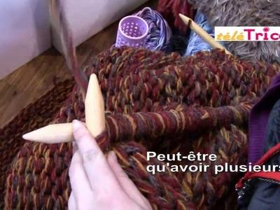 COMMENT tricoter avec des aiguilles géantes