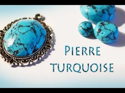 ✐ Faire des pierres turquoise en fimo ✐