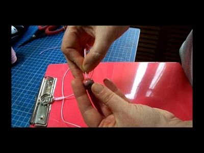 MACRAME - NOEUD PLAT et bijou de sac