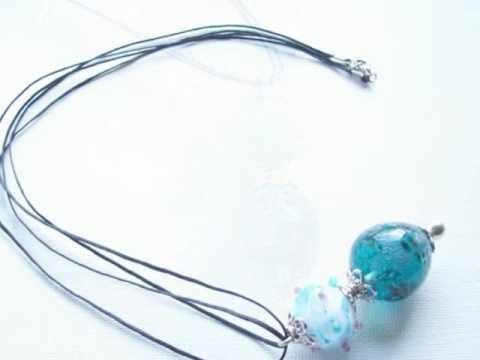 Perle au chalumeau,création de bijoux uniques
