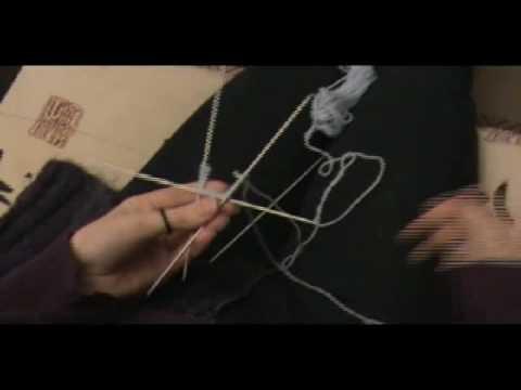 [Tricot] Tricoter en rond avec des aiguilles double pointes